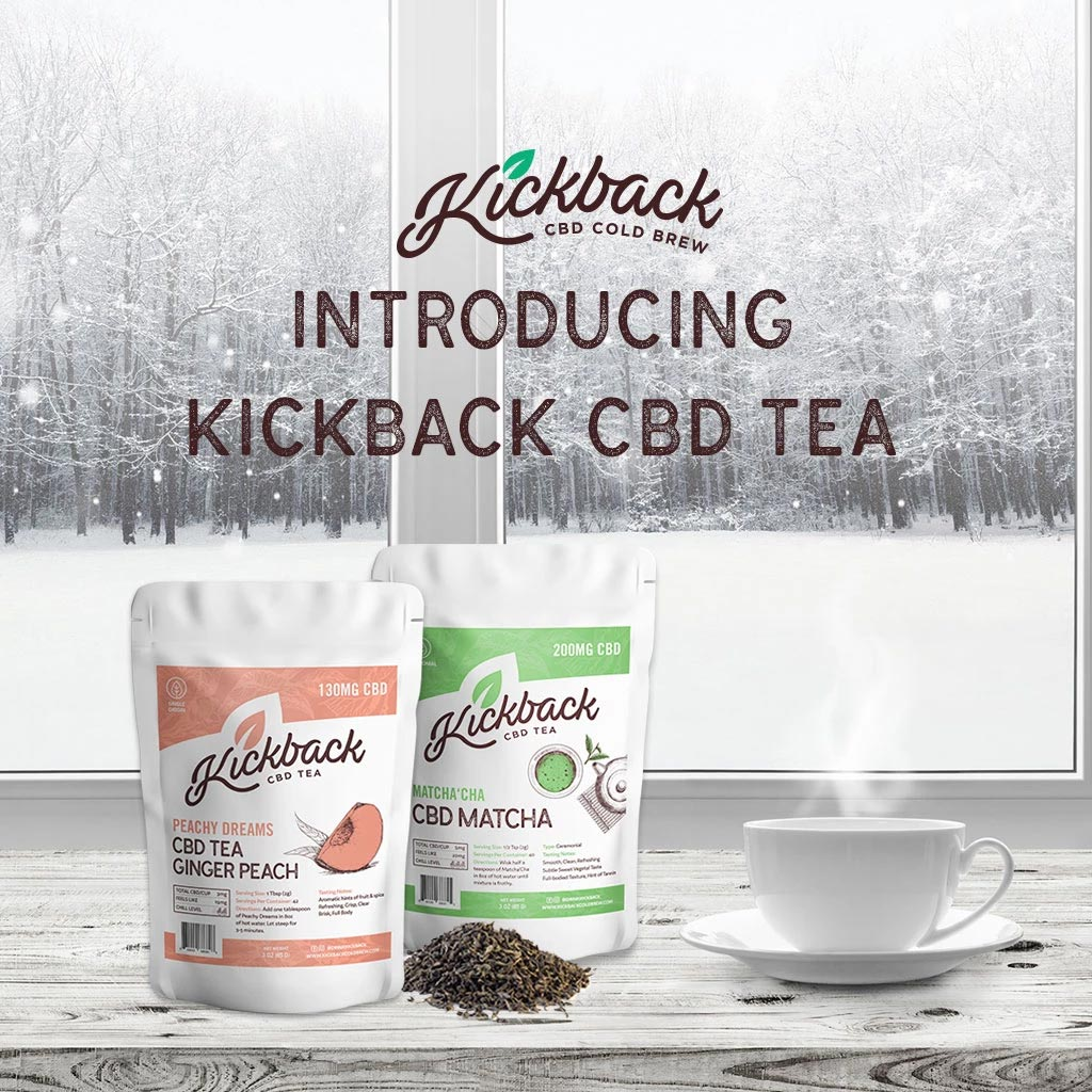 Introducing Our New CBD-Infused Matcha and Tea