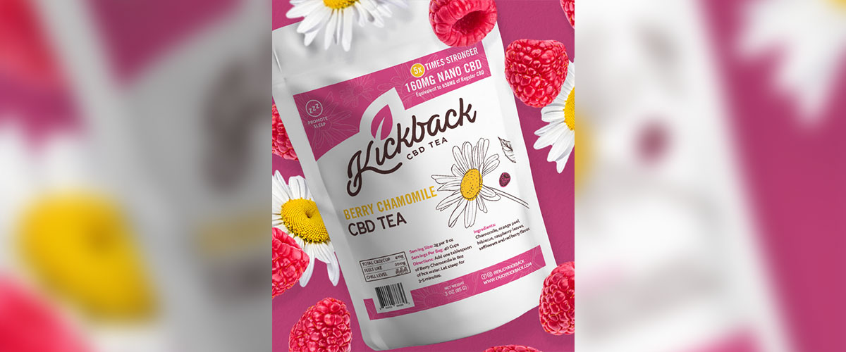 Introducing the New Kickback Berry Chamomile CBD Tea