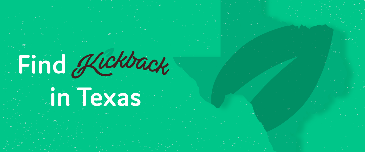 Where To Get Kickback CBD Beverages in Texas