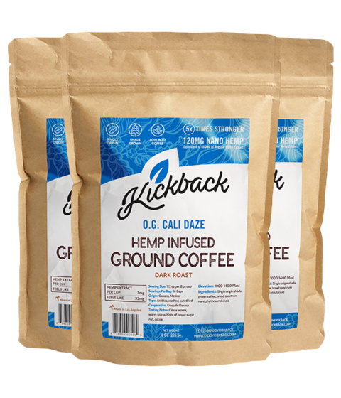 Hemp Infused Ground Coffee