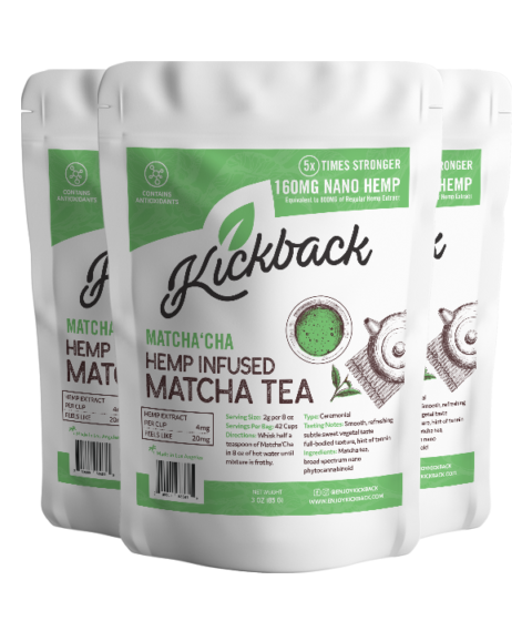 Kickback CBD Hemp Infused Matcha