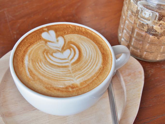 Vegan Peanut Butter Spiced Latte
