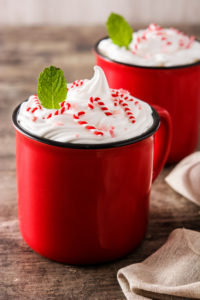 peppermint hemp infused mocha