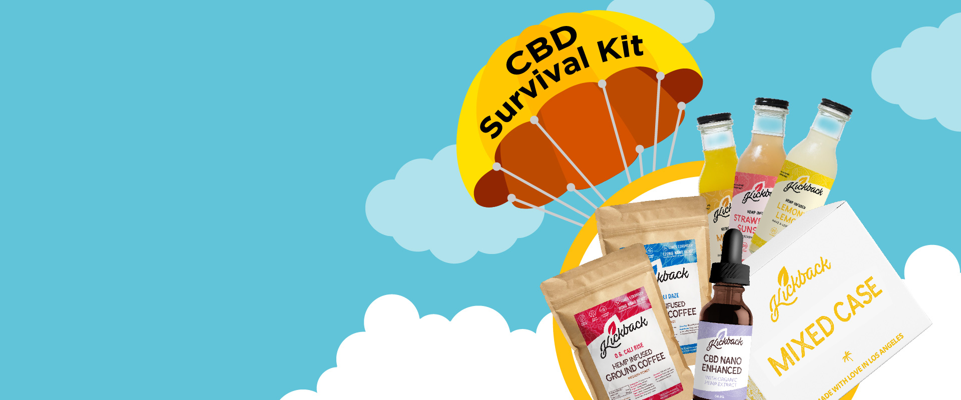 Kickback CBD Survival Kit